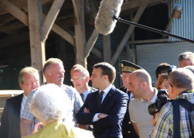 Emmanuel Macron à Châteauponsac (13)