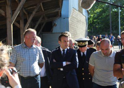 Emmanuel Macron à Châteauponsac (4)