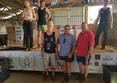 Klaus Kiefer, Martyn David et Arwyn Jones