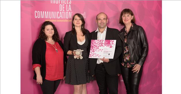 L'AMTM récompensée aux Trophées de la communication