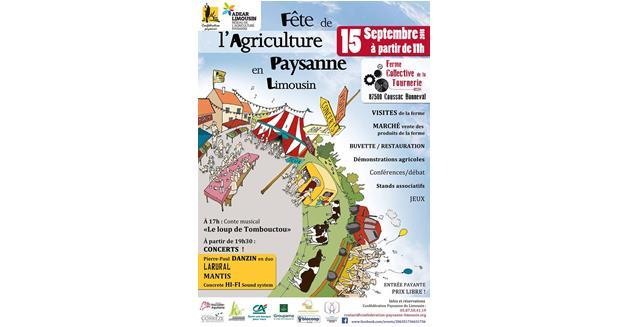 Info presse : Fête de l'agriculture paysanne en Limousin, Coussac-Bonneval (87)