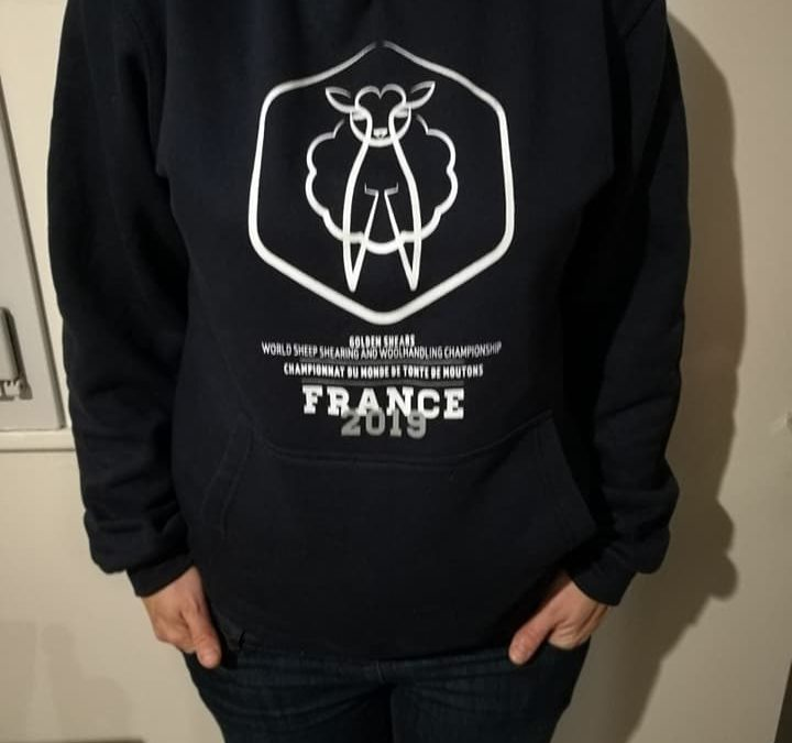 The World Championship France 2019 hoodies are here !