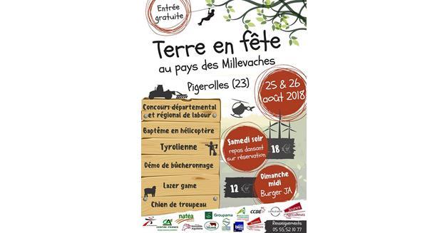 Information presse : « Terre en Fête » dans la commune de Gentioux-Pigerolles (23)