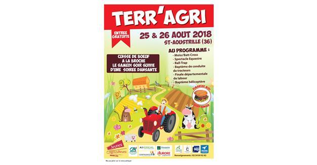 Information presse : l' AMTM présente pour Terr'Agri à St Aoustrille (36)