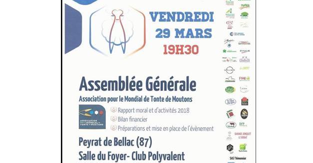 105-Invitation presse- Assemblée Générale