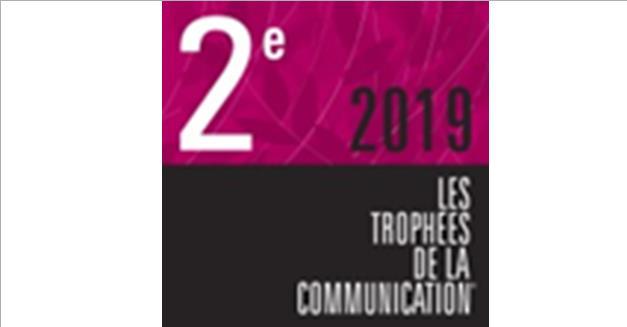 116- Info presse : L'AMTM et l'agence Phoebus Communication sur le podium aux Trophées de la communication 2019